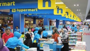 Hypermart di Metro Indah Mall, Bandung.| Foto media.corporate-ir.net