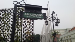 Jalan Dr Ir Sukarno Bandung.