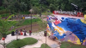 wisata alam taman teras cikapundung