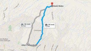 jalan ke bukit moko