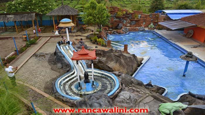 Walini, Pemandian Air Panas di Kawasan Perkebunan Teh