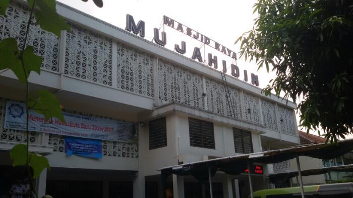 Masjid Mujahidin, Masjid Raya di Kawasan Lodaya