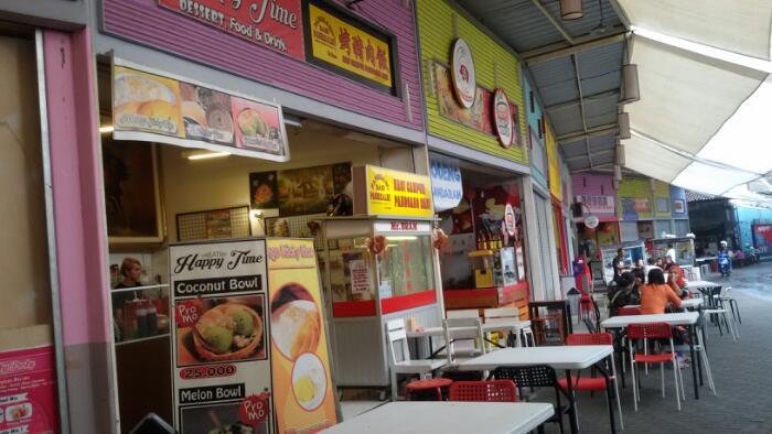 kuliner di jalan cibadak Sudirman Street
