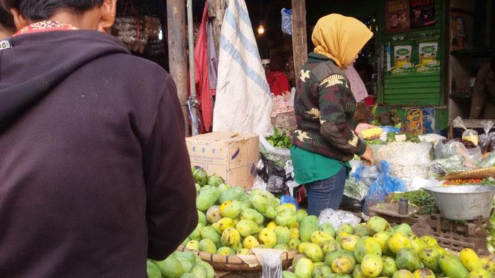 pasar tradisional di Bandung