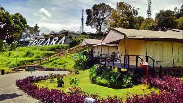Trizara Resorts, Glamping di Kawasan Puncak Lembang