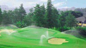 lapangan golf di bandung