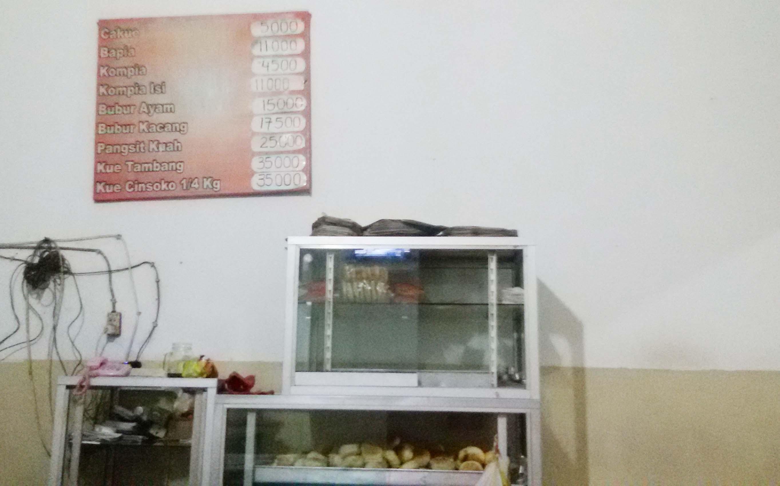 makanan khas tionghoa