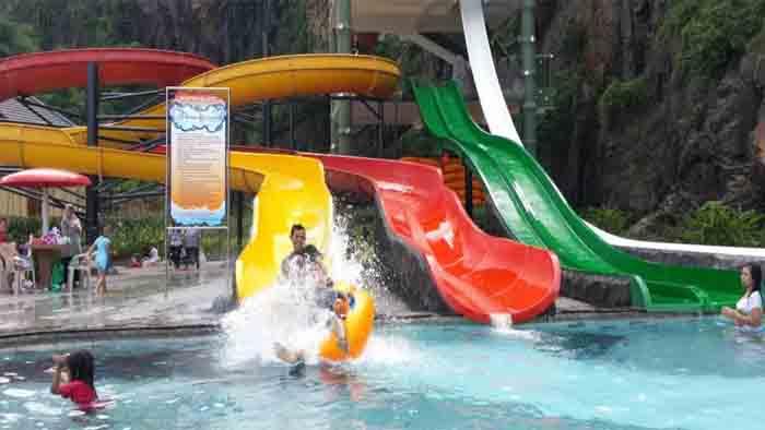 nirwana waterpark wisata di soreang
