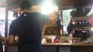 Penjual sate di Bandung