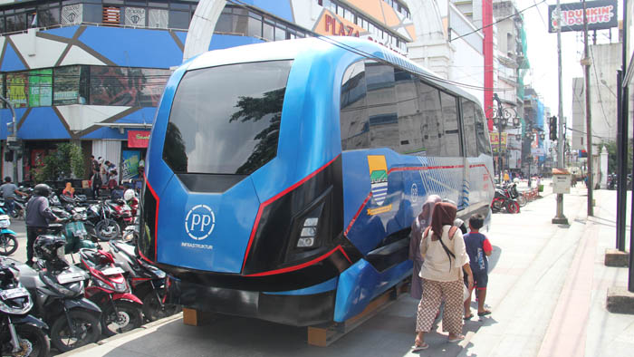 LRT Light Rail Transit Metro Kapsul