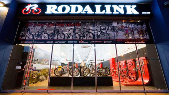 penjual sepeda Rodalink Bandung