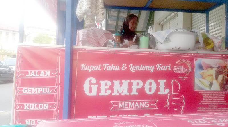 kuliner tradisional kupat tahu gempol