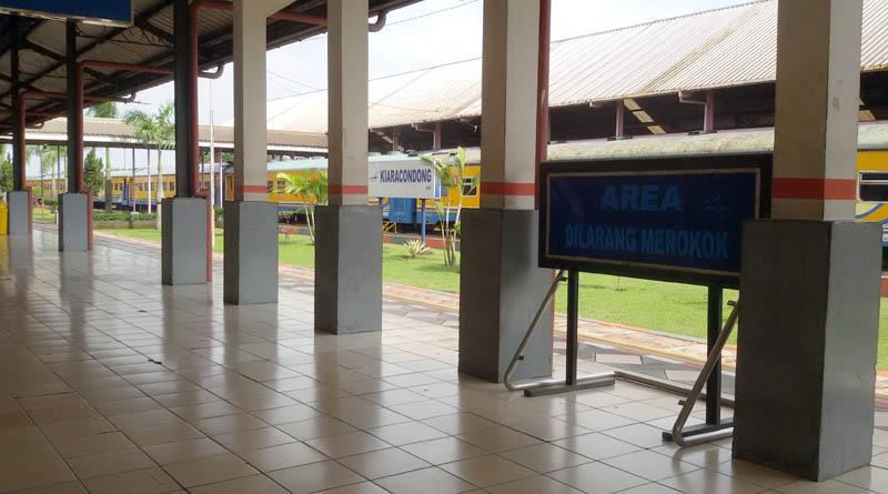 Stasiun Kiaracondong, stasiun keberangkatan KA Galunggung