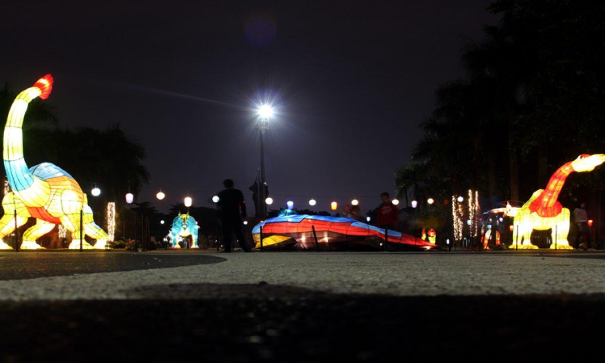 Taman Lampion Tempat Wisata Baru Di Kota Bandung