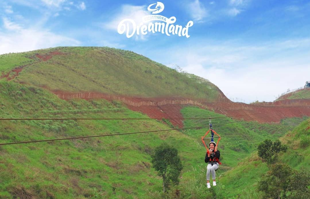 flying fox cicalengka dreamland