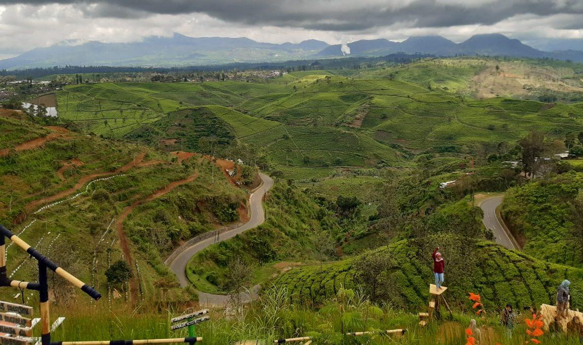 rute Bandung Pangalengan Rancabuaya